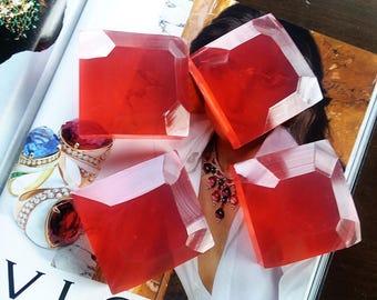 Ruby Black Cherry Soap
