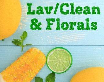 Lavender/Clean/Florals Bath & Body Items