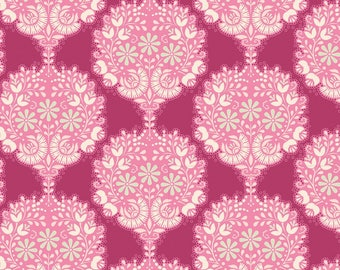TILDA HARVEST - Flower Tree Purple 481497 - 1/2 yard