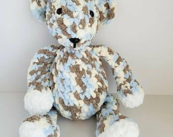 Amigurumi Bear, Crochet Bear, Crochet Stuffed Bear, Stuffed Bear, Stuffed Animal