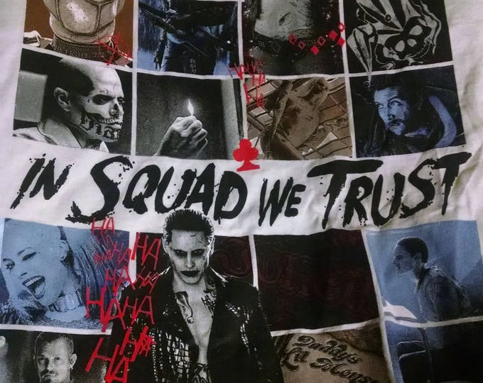 Shirts - In Squad We Trust - Adult XXL