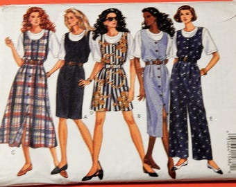 Butterick 6713 Easy to sew jumper, jumpsuit and top pattern Uncut Sizes 18, 20 and 22