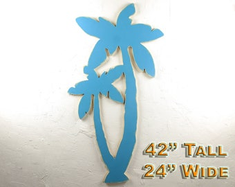 Palm Tree Decor Beach Wall Art Large Hawaii Decorating Large Beach Wall Art Palm Beach Decor Tropical Art Decor Palm Tree Wall Art Coastal