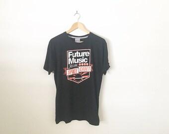 Future Music Festival Australia Band Tee New Order Fat Boy Slim Swedish House Mafia Skrillex Die Antwood Frank Ocean Ruby Rose Tinie Tempah