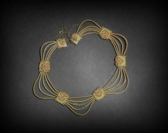 desert waves necklace