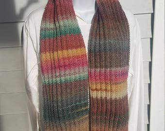Super soft knit scarf, winter wear, holiday gift, woman scarf, scarves and wraps strawberry fields