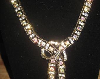 Vintage CORO Lariat Necklace