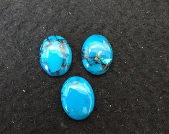 Vintage Turquoise 20X15 Oval Cabochons