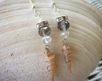 Handmade Seashell Earrings