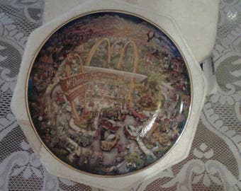 McDonald's 'Golden Moments' Collector Plate