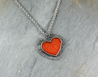 Candy Heart pendant necklace