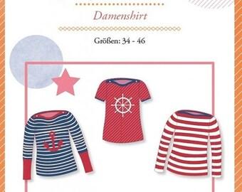 "Summer Sale Mialuna pattern Damenshirt ""Lady Mariella"""