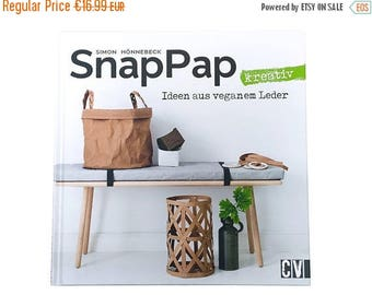 """Summer Sale Book """"SnapPap"""" ideas in vegan leather"""