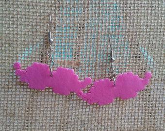 Warfstache Inspired Perler Hama Earrings