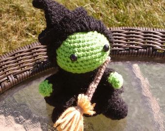 Elphaba Wicked Musical Crochet Doll