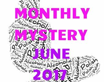 Monthly Mystery Polish - June 2017 - 10 ml handmade nail polish