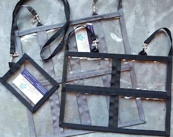 Booth Holder Set- 3-piece set - Event Booth Holders -  16-pocket, 8-pocket and lanyard