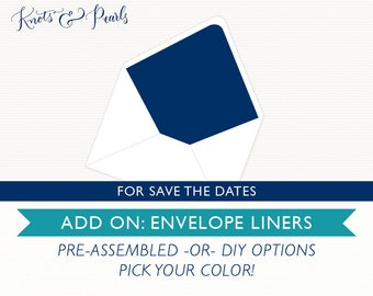 Add-On: Envelope Liners [For Save the Date Orders]