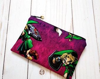 Legend of Zelda Small Zipper Pouch