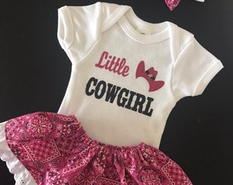 Little cowgirl outfit