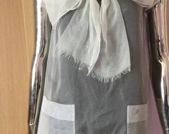 Blouse Chanel and Chanel Dress