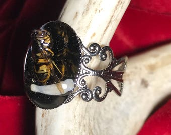 Bee/Tooth Ring.