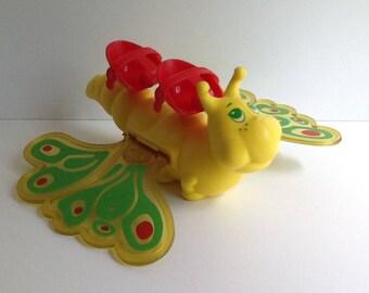 Vintage Strawberry Shortcake FLITTER-BIT Butterfly Vehicle
