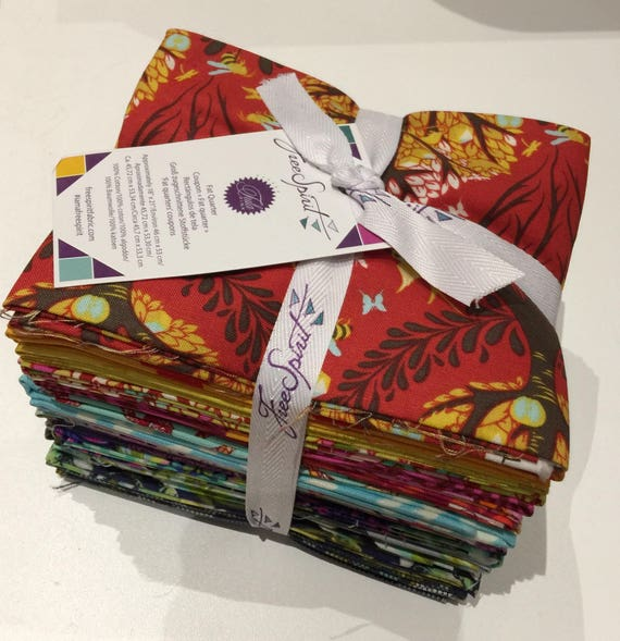 THROWBACK FQ Bundle 2017 by Tula Pink 20 FQs