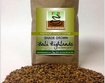 BALI HIGHLANDS by Free the Green Bean. A shade-grown, Fair Trade Organic Indonesian gem. 12oz Whole Bean