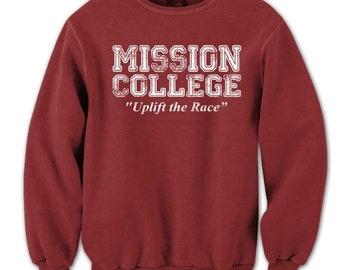 Mission College School Daze Retro 80S Movie Crewneck Sweatshirt DT0600
