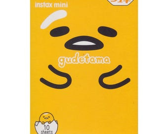 FujiFilm Instax Mini Picture Fuji Instant Film Photo 10 Shots 1 Pack Sanrio Gudetama 2017 Polaroid 7S 8 25 50S 70 90 SP-2 Free Shipping X406