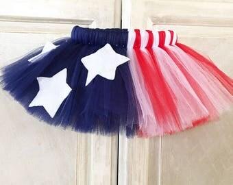 Forth of July tutu, kids tutu, baby tutu, adult tutu, newborn tutu, preemie tutu, patriotic tutu, Independence Day tutu, red white & blue.