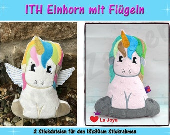 Unicorn ith (Size XL)-ith for the 18x30cm frame