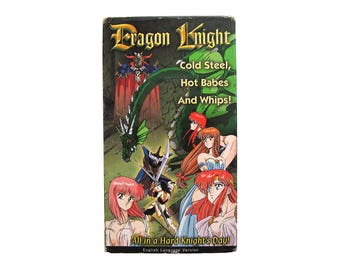 Dragon Knight VHS Anime US Manga 90s Video Hentai Movie Hot Babes Whips