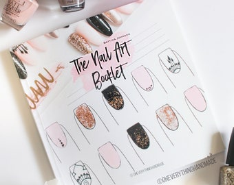 The Nail Art Booklet - For pattern and designs
