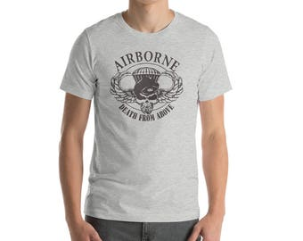 Vintage clothing/vintage shirt/Military gifts/Military retirement/military t shirts/veteran tshirt/veteran gift/Army shirt/death from above