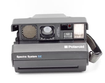 Polaroid Camera // Spectra System SE // Film Tested & Working