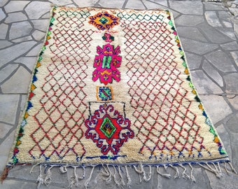 "Moroccan carpet Azilal (91 x 56 2/3"")"