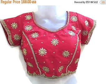 Women Blouse embroidered blouse vintage blouse handmade blouse summer blouse designer blouse buttoned blouse-FREE SIZE-IDB32