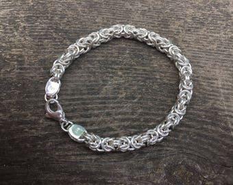 Byzantine silver bracelet