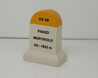 Passo Mortirollo Km Marker Milestone Tour de France Mountains