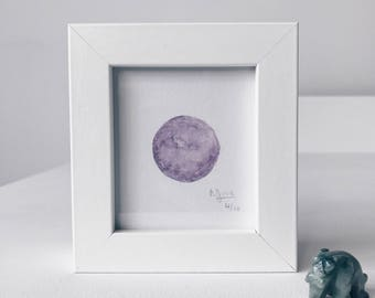 Framed Mini Moon Limited Edition Number 4/10