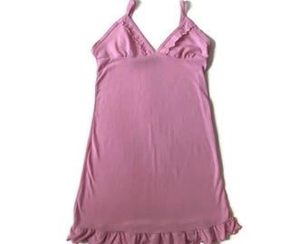 90s Baby Pink Tank Dress