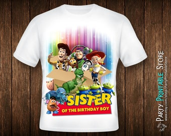Toy Story Birthday Shirt, Toy Story Birthday Shirt Iron On, Toy Story Birthday Shirt Download