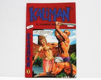 Kaliman El Hombre Increible No 110 El Faraon Sagrado Revista en Español Comic RARE