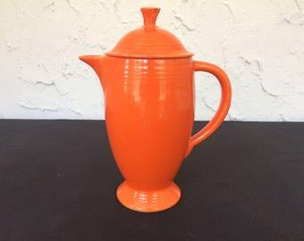 Vintage Fiesta Coffeepot