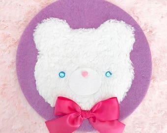 Fluffy Bear Beret