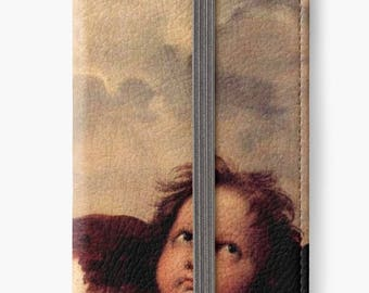 Folio Wallet Case for iPhone 8 Plus, iPhone 8, iPhone 7, iPhone 6 Plus, iPhone SE, iPhone 6, iPhone 5s - Raphael's Angels Cherubim