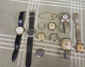 Vintage Estate Lot Watches. Men's. Women's. Instant Collection. Timex