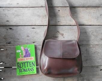 Vintage COACH ERGO Bag No.B8D-9034 / Mahogany Brown / Boho Bag , Shoulder , Purse / Medium /